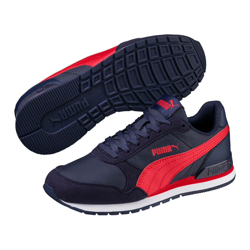 1a7db2be48f Zapatillas Niño Junior Puma St Runner 365293 05
