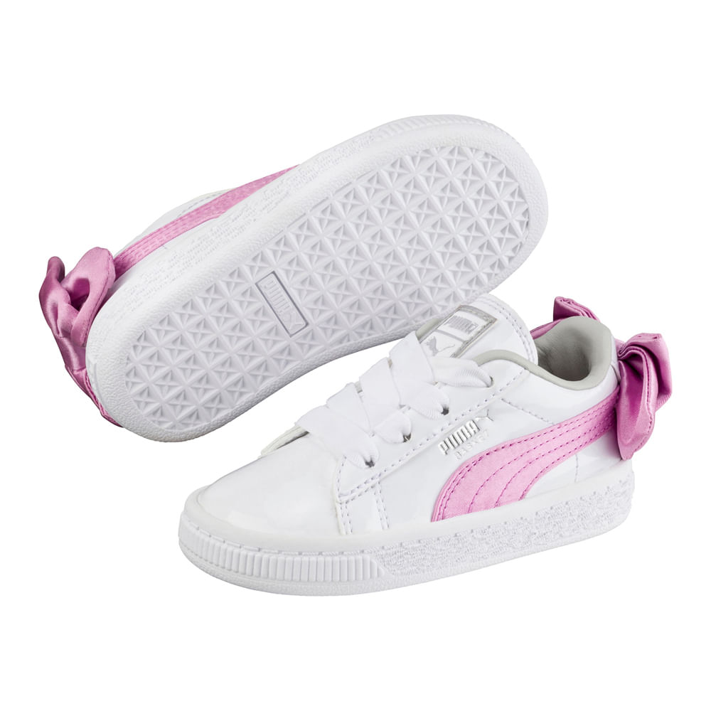 zapatillas puma basket mujer