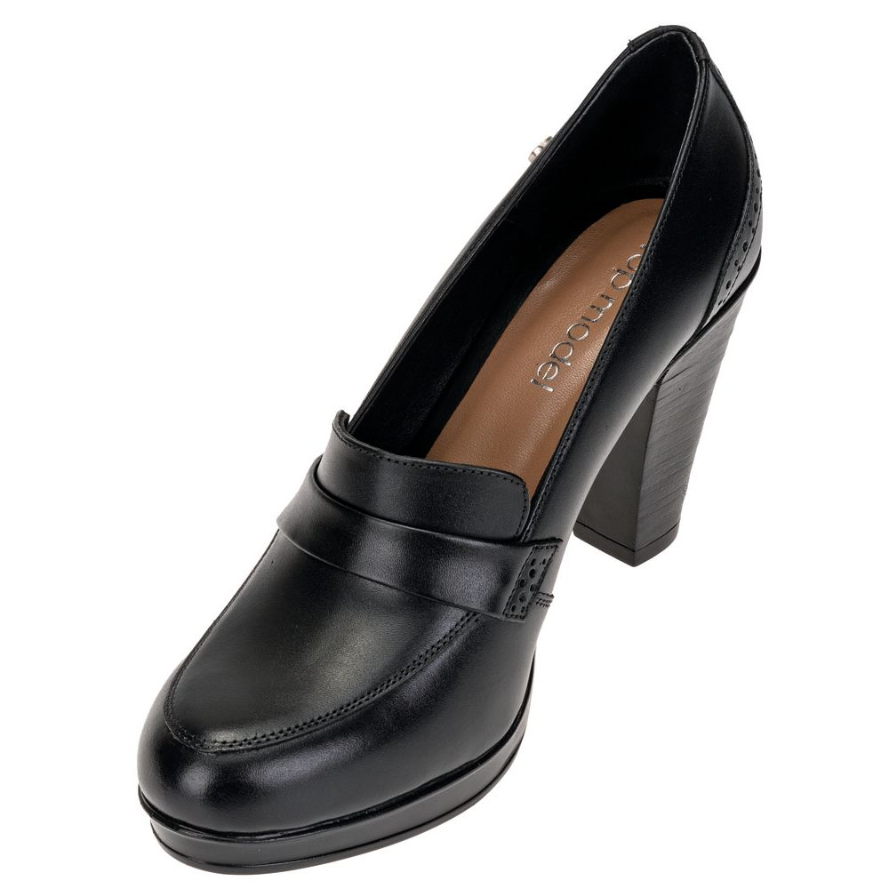 Zapatos Top Model TM-04I19 Habano - cierrapuertas