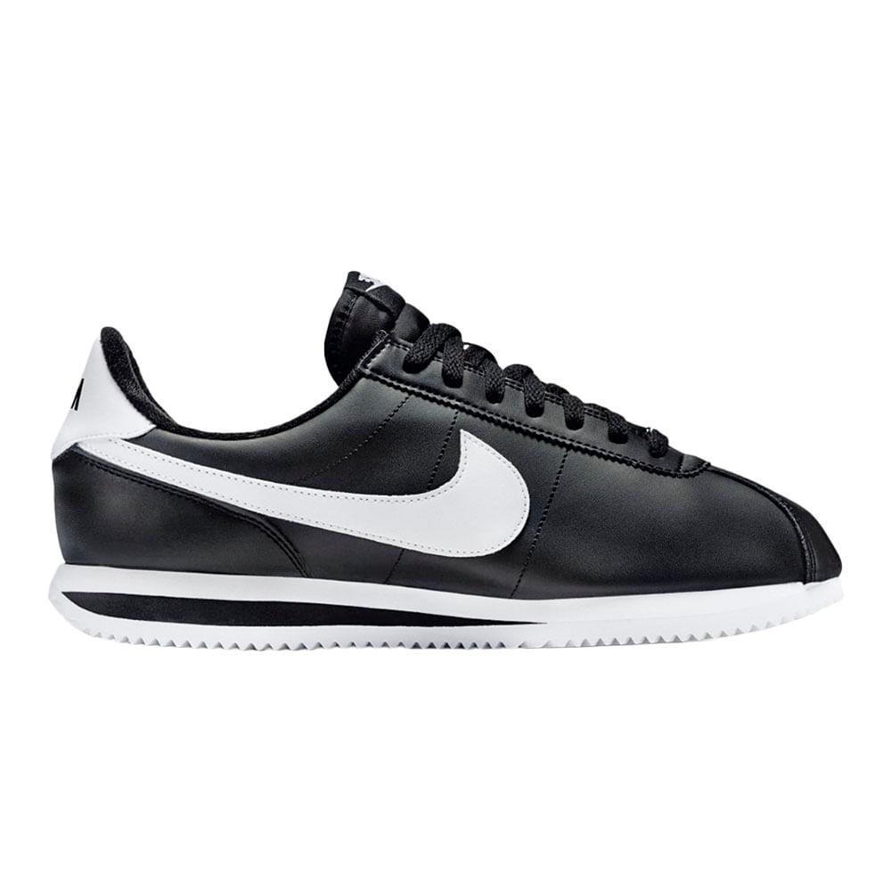Zapatillas Nike Cortez Clásico Blanco Negro Nuevo 2017