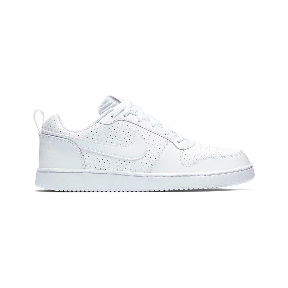Zapatillas Hombre Nike Court Borough 838937-111 - passarelape 4ae349c27e417