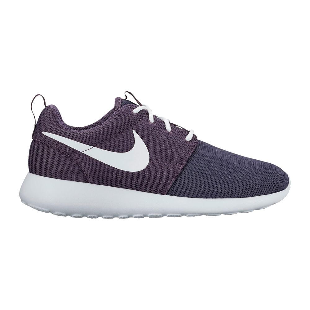 184e3508a Zapatillas Mujer Nike Roshe ONE 511882-505 - 7 Lila Blanco