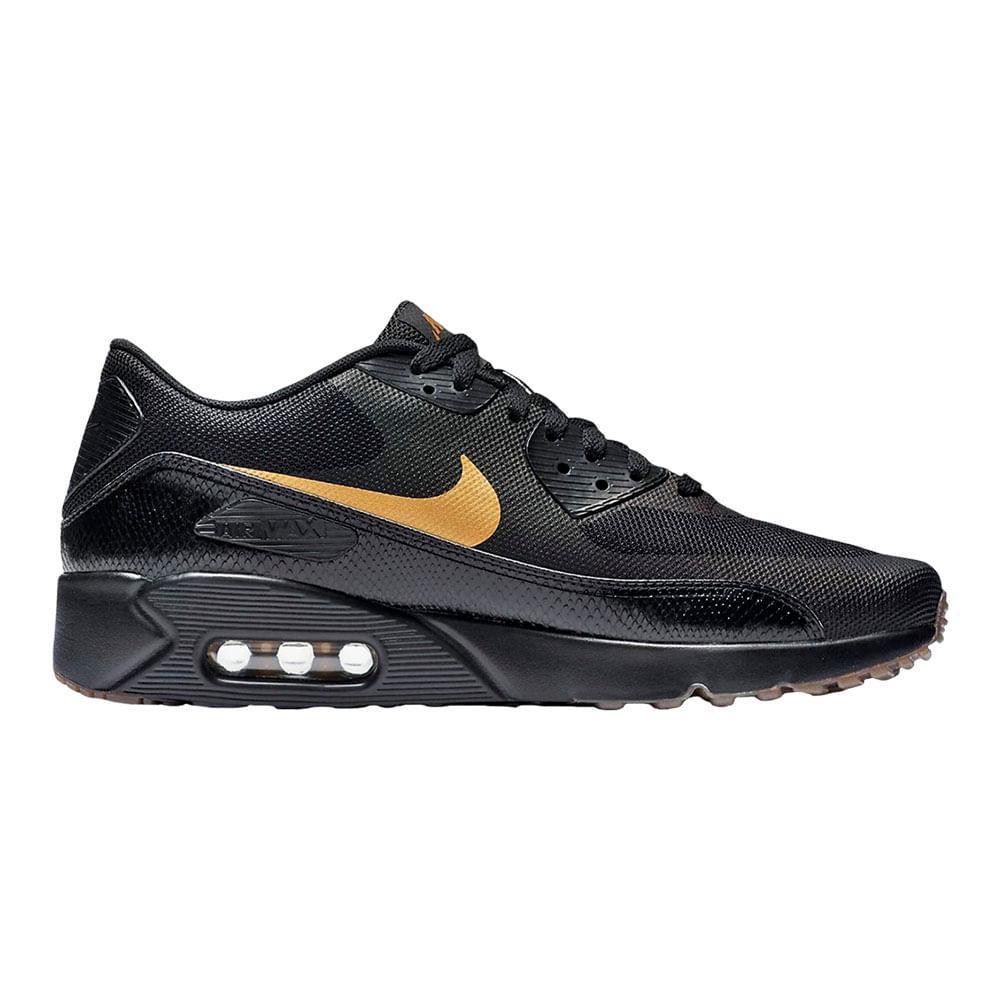 d762b55d0965a Zapatillas Nike AIR MAX 90 875695-016 Negro Dorado - passarelape
