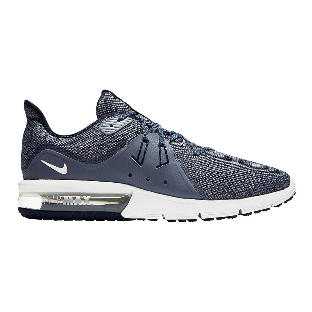 66e5bcd997b Zapatillas Nike AIR MAX SEQUENT 3 921694-402 Gris - passarelape