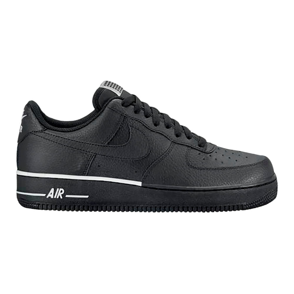 8ceb78e3d Zapatillas Nike AIR FORCE 1 07 AA4083-009 Negro Blanco - passarelape