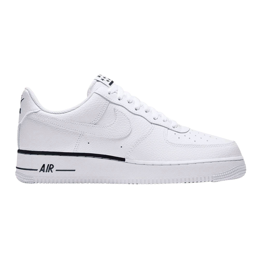 b7bfddb8210 Zapatillas Nike AIR FORCE 1 07 AA4083-101 Blanco/Negro - passarelape