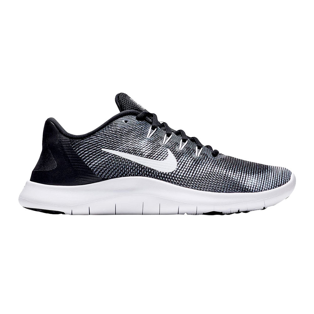 Zapatillas Nike FLEX 2018 RN AA7397-001 Negro Blanco - passarelape 3e736670e2a