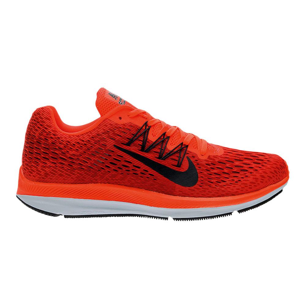 a53d4abff Zapatillas Nike ZOOM WINFLO AA7406-600 Rojo Negro - passarelape