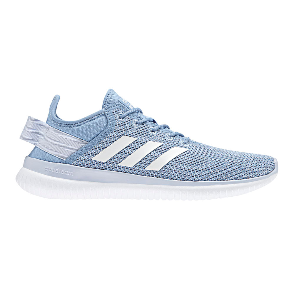 Zapatillas Adidas CF QTFLEX DA9839 Celeste footloose