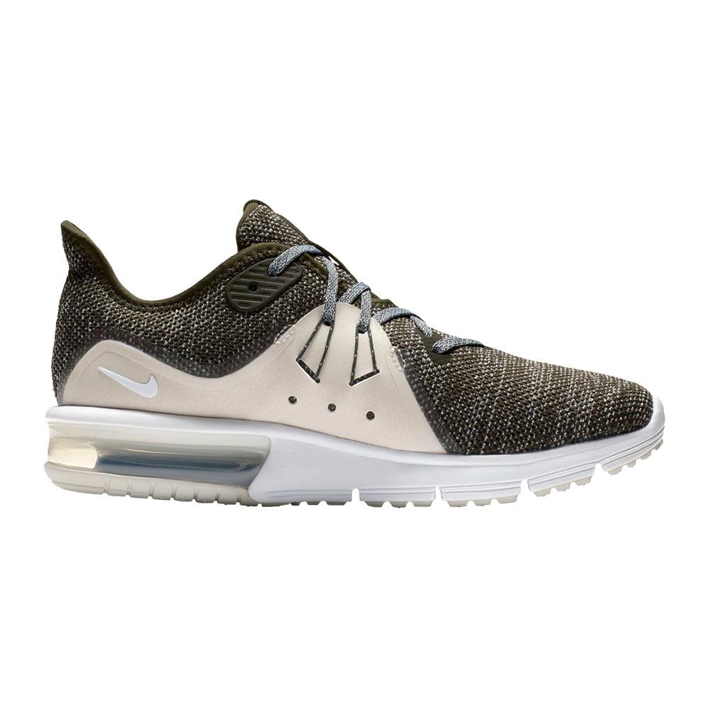 Zapatillas Nike AIR MAX SEQUENT 3 908993 300 VerdeRosado