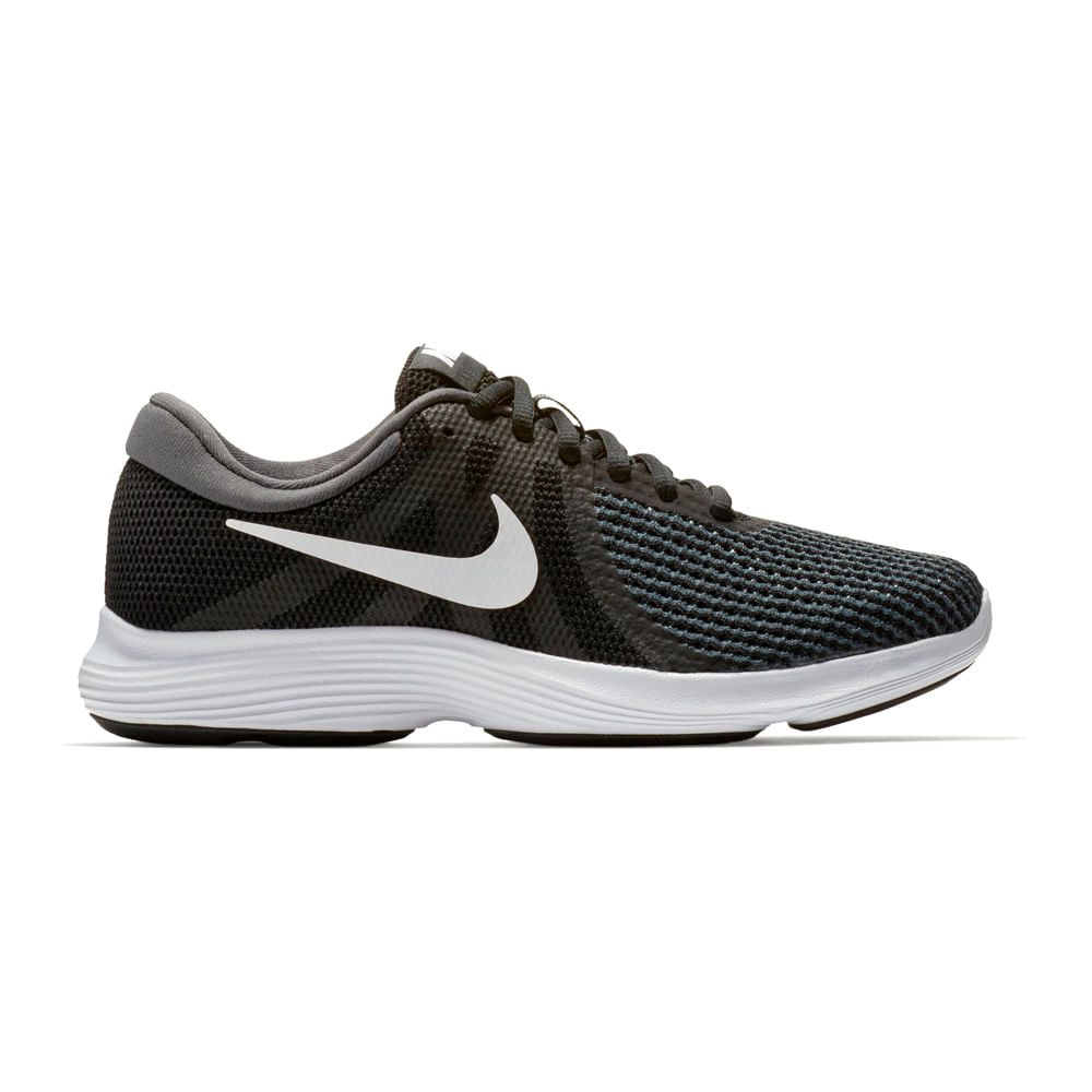 e78febd102699 Zapatillas Nike REVOLUTION 4 908999-001 Negro Blanco - passarelape