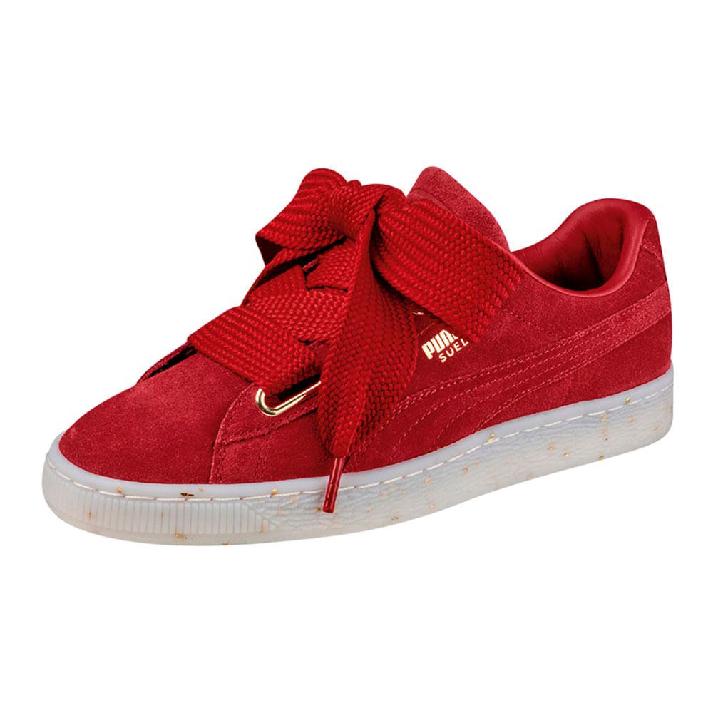 zapatillas puma mujer rojas