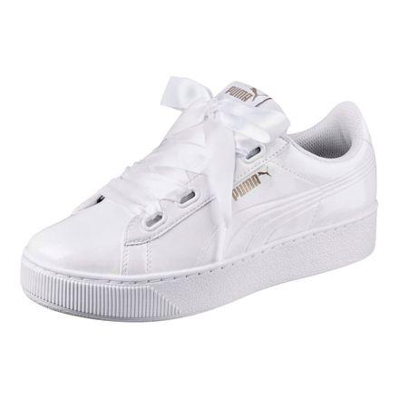 Boutique en ligne brillante en brillo Cantidad limitada Zapatillas Puma VIKKY PLATFORM 366419 02 Blanco - footloose