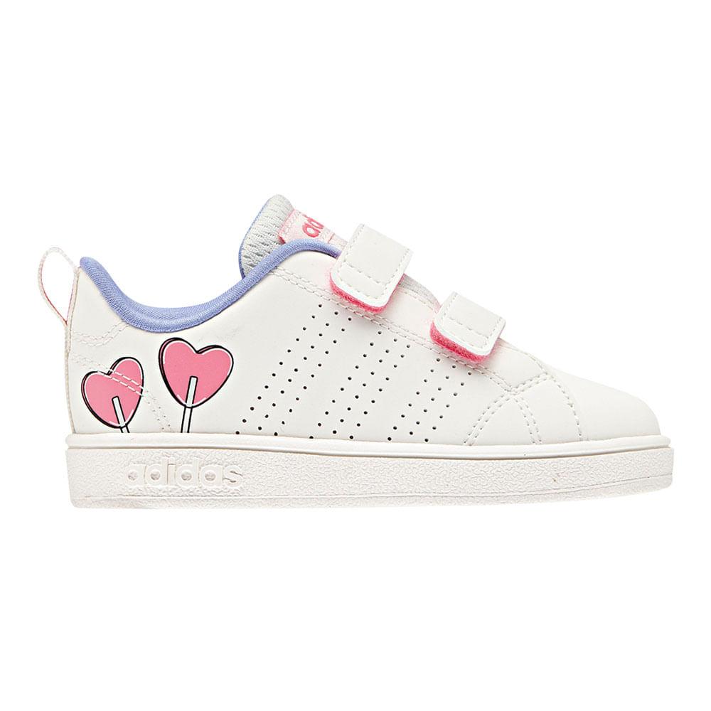 Zapatillas Adidas VS ADV CL CMF INF B75970 Blanco footloose