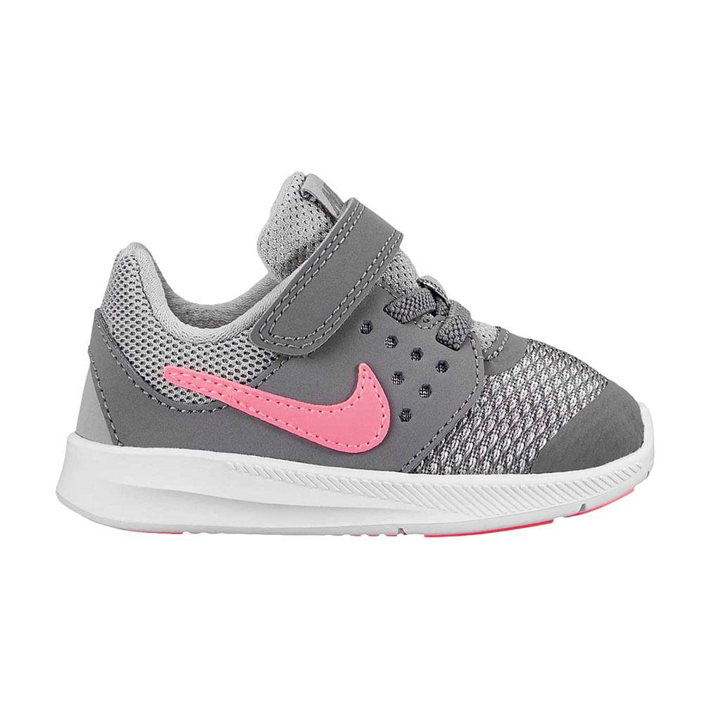 Zapatillas Nike DOWNSHIFTER 7 869971-003 Gris Rosado - passarelape 34e75ccb3ae71