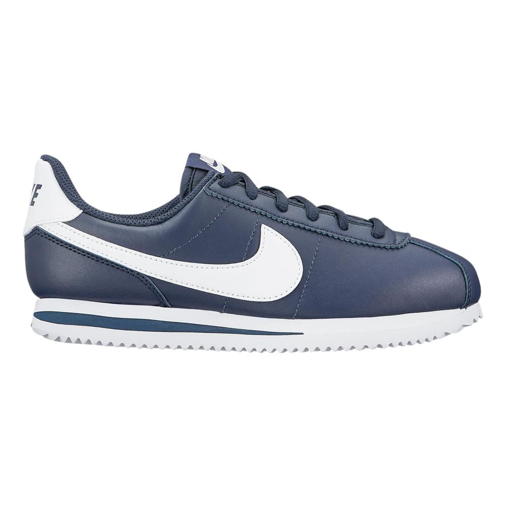 42dc81789 Zapatillas Nike CORTEZ BASIC SL 904764-400 Azul - passarelape