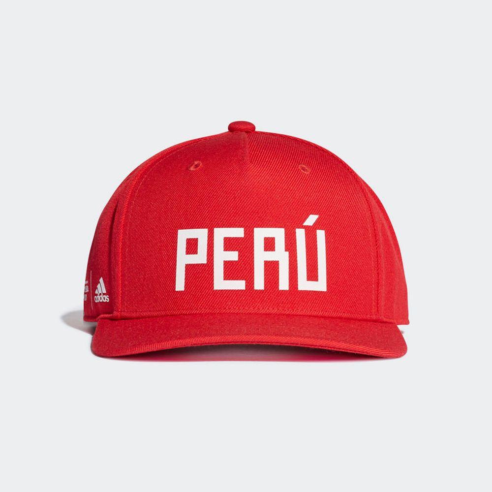 37259371d5144 Gorras Adidas PERU CAP DX0991 Rojo - passarelape