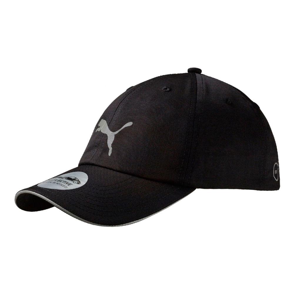 Gorras Puma UNISEX RUNNING CAP III 052911 01 Negro - passarelape df19ec428d1