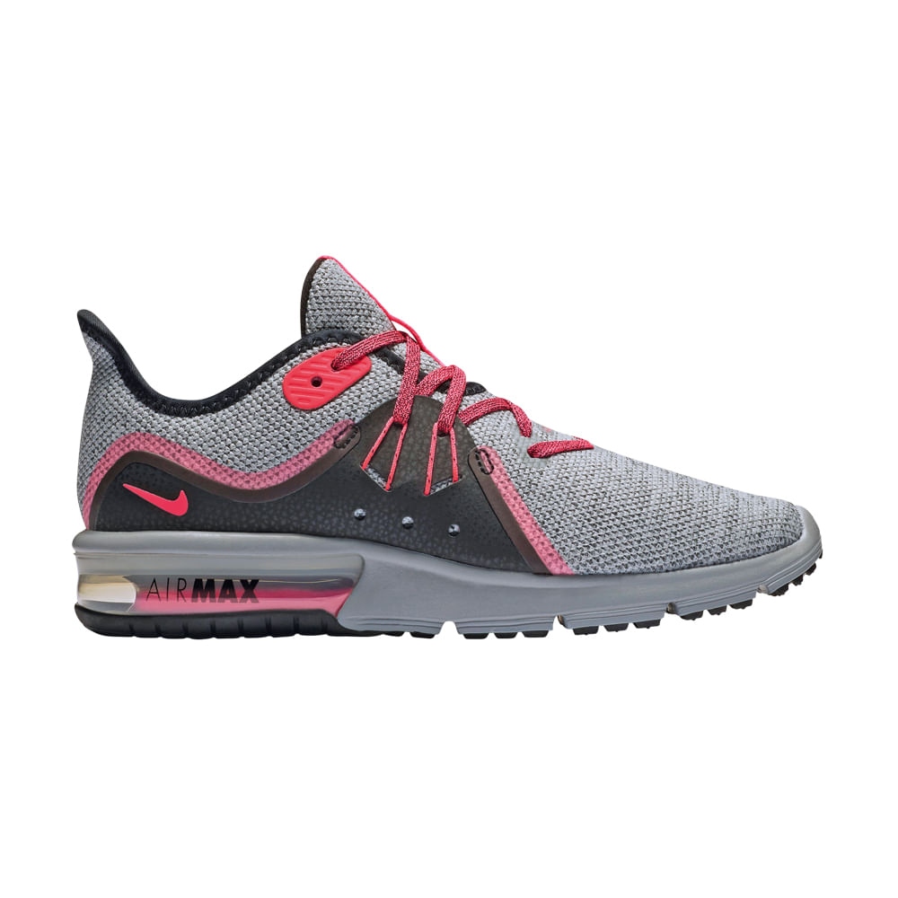 Zapatillas Grisnegro Max Nike Footloose 908993 Air Sequent 015 v8Nmn0w