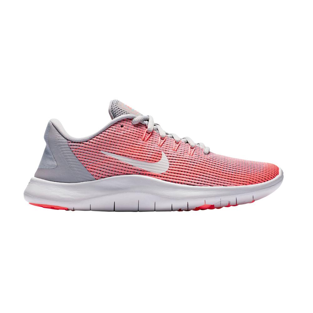pasatiempo Claraboya medida  Zapatillas Nike FLEX 2018 RN AA7408-005 Gris/Coral - footloose