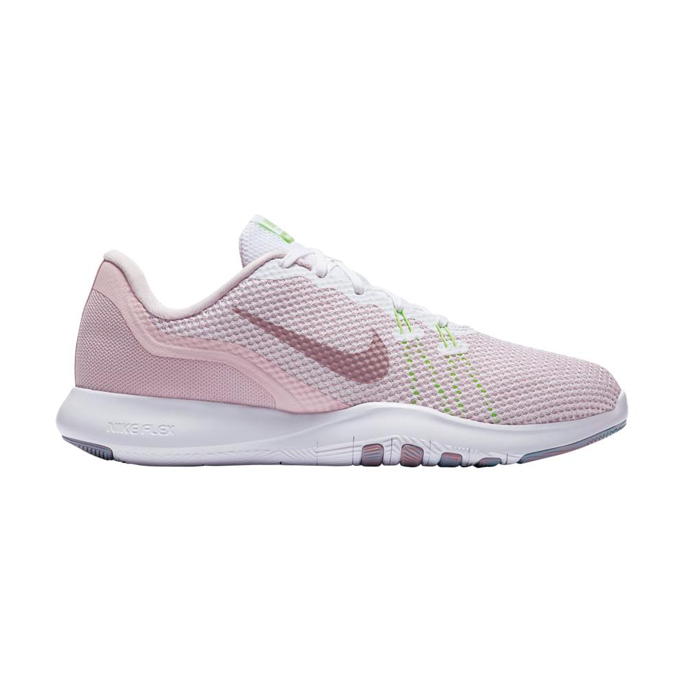 Zapatillas Nike FLEX TRAINER 898479 104 Rosado passarelape