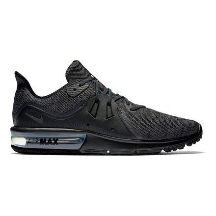 f3fbdfa1 Zapatillas Nike AIR MAX SEQUENT 921694-010 Negro - passarelape