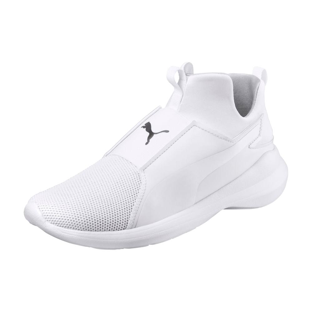 zapatillas puma blanca mujer