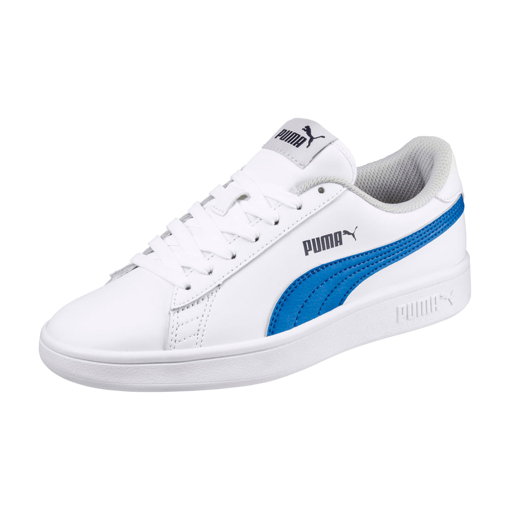 d95dc8639 Zapatillas Puma SMASH V2 365170 07 Blanco - passarelape