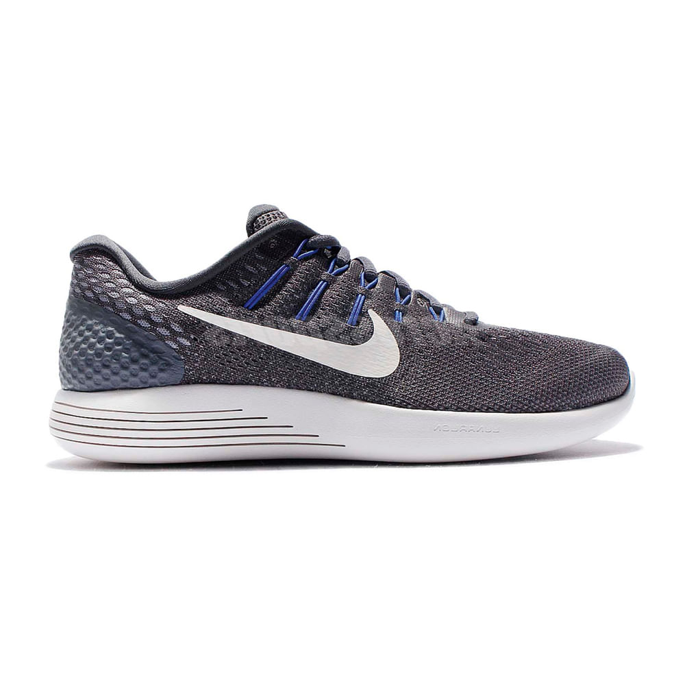 new product 36884 97f2d Zapatillas Nike LUNARGLIDE 8 843725-013 Gris Blanco