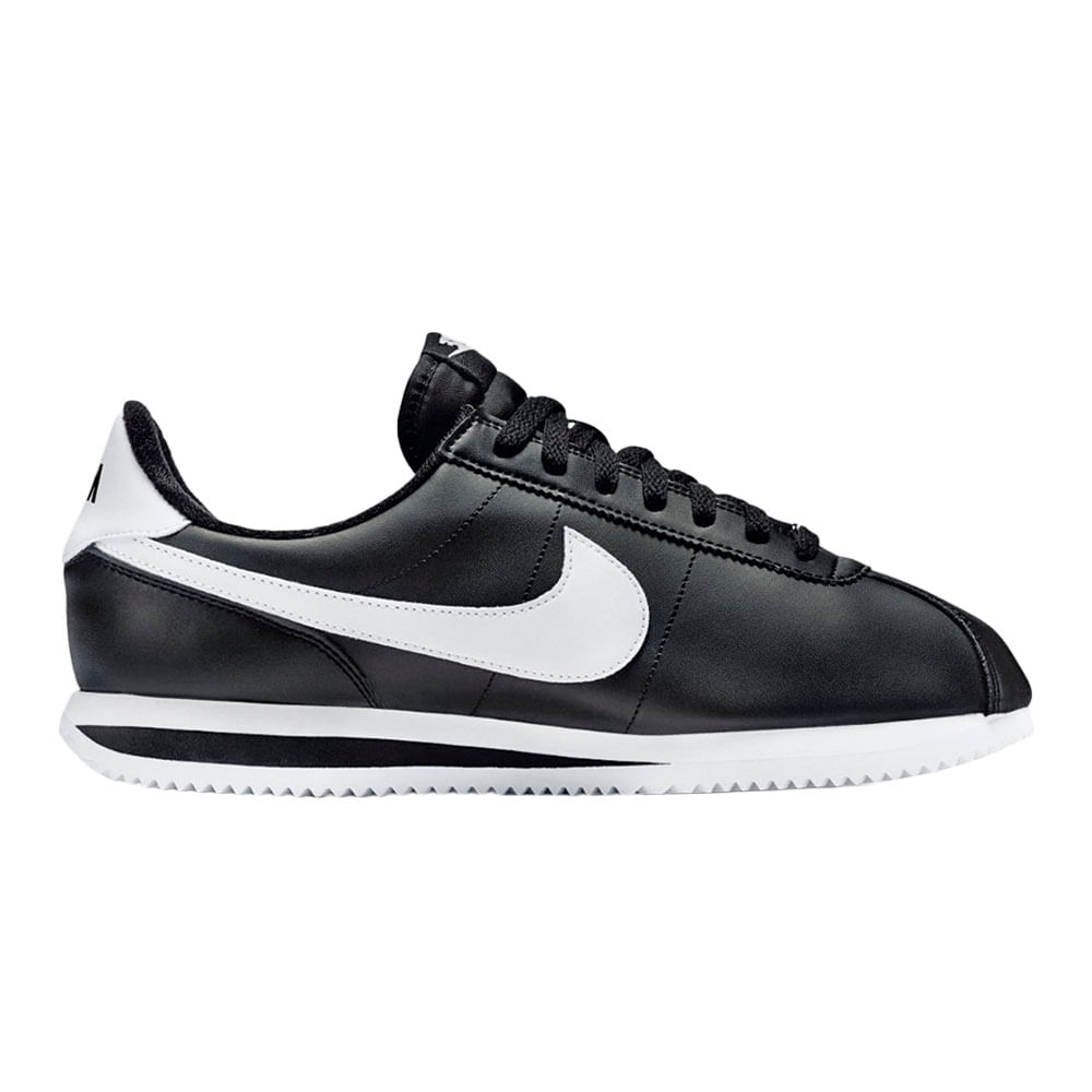 Zapatillas Nike CORTEZ BASIC 819719 012 NegroBlanco footloose