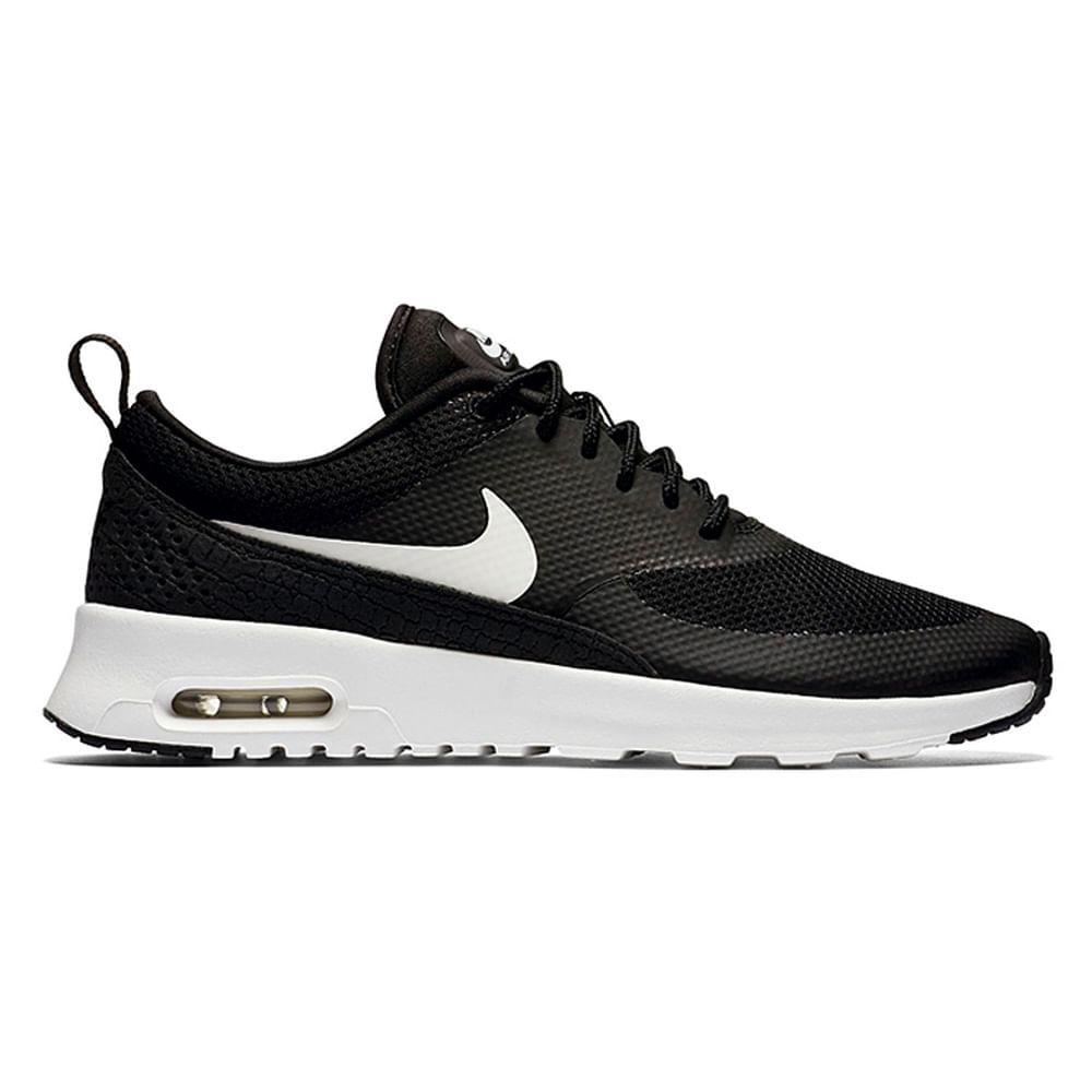Zapatillas Nike AIR MAX THEA 599409 020 NegroBlanco footloose