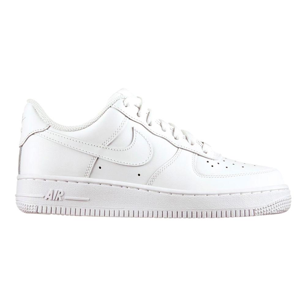pretty nice 33078 3b88b Zapatillas Nike AIR FORCE 1 07 LE 315115-112 Blanco - passarelape