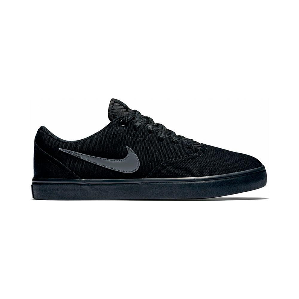Passarelape Cnvs Negro Zapatillas 002 Nike Check Solar Sb 843896 iXZOPuk