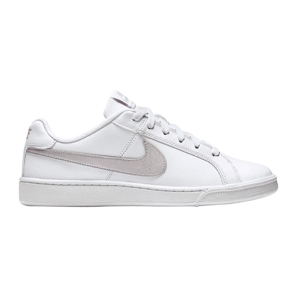 5cfd528819 Zapatillas Nike COURT ROYALE 749867-100 Blanco/Gris - passarelape