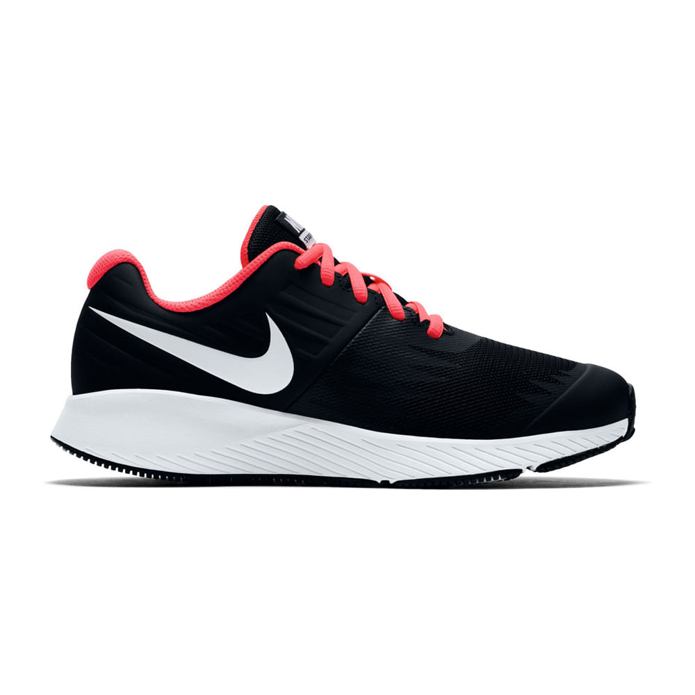 on sale 44c78 43e34 Zapatillas Nike STAR RUNNER GG 907257-001 NegroBlanco