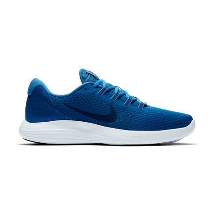 51b7181deaf Zapatillas Nike LUNAR CONVERGE 852462-403 Azul Blanco - passarelape