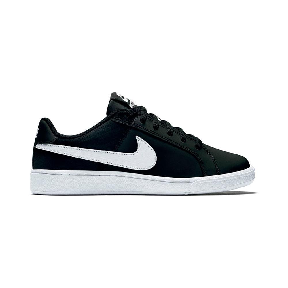 47eeab69 Zapatillas Nike COURT ROYALE 749867-010 Negro/Blanco - passarelape