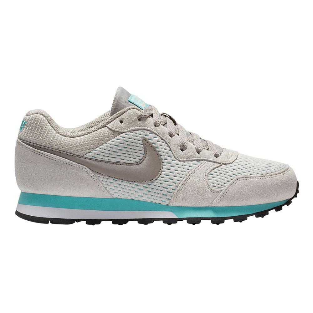Zapatillas Nike MD RUNNER 2 749869-101 Beige Verde - passarelape 923efb2f9e269