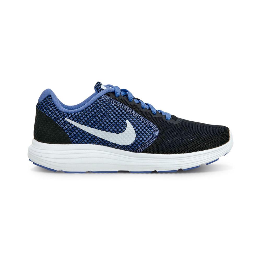 hot sale online b28b4 d6f5d Zapatillas Nike REVOLUTION 3 819303-020 Negro Blanco