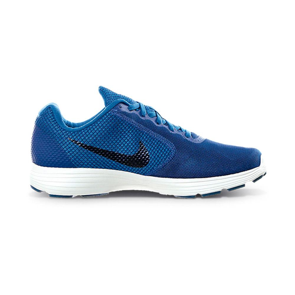 276e1d591d7 Zapatillas Nike REVOLUTION 3 819300-408 Azul Negro