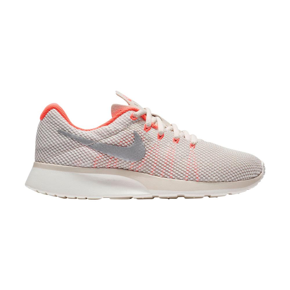 cd58b73653e Zapatillas Nike TANJUN RACER 921668-101 Gris Naranja - passarelape