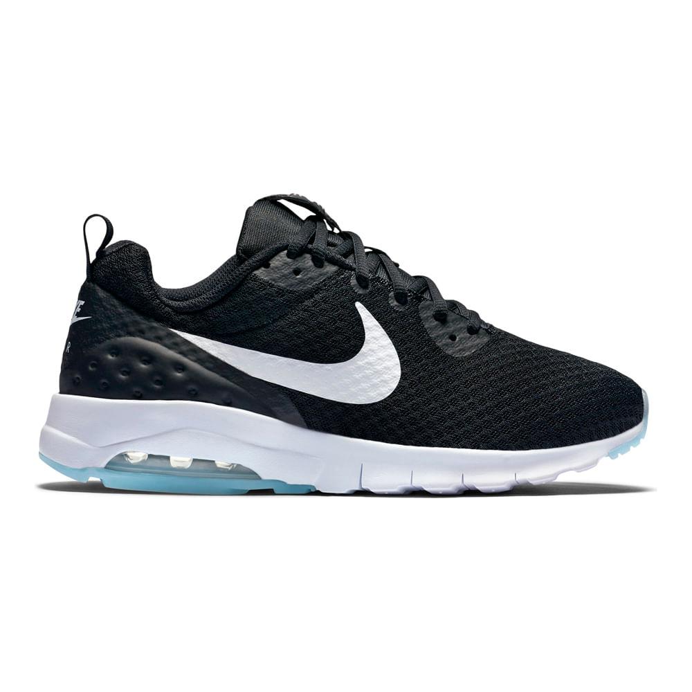 5d05bf95ab9 Zapatillas Nike AIR MAX MOTION 833662-011 Negro Blanco - passarelape