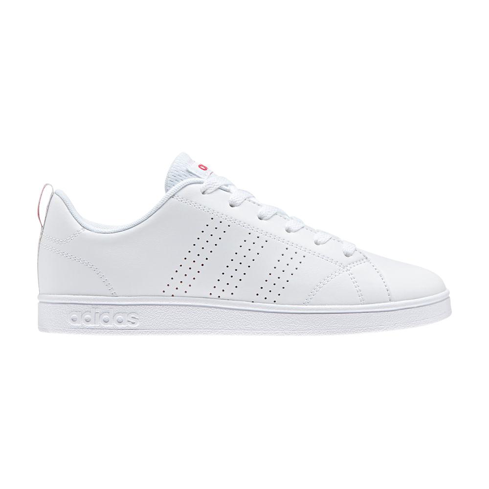 b78f42b0f1 Zapatillas Adidas VS ADVANTAGE CL K BB9976 Blanco - passarelape