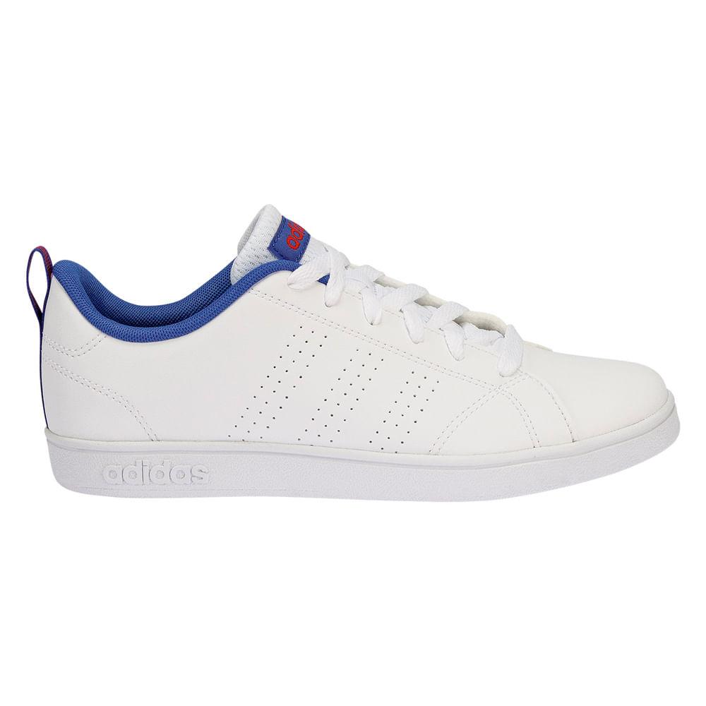 Zapatillas Adidas VS ADVANTAGE DB0686 Blanco - passarelape b85cd12f40930