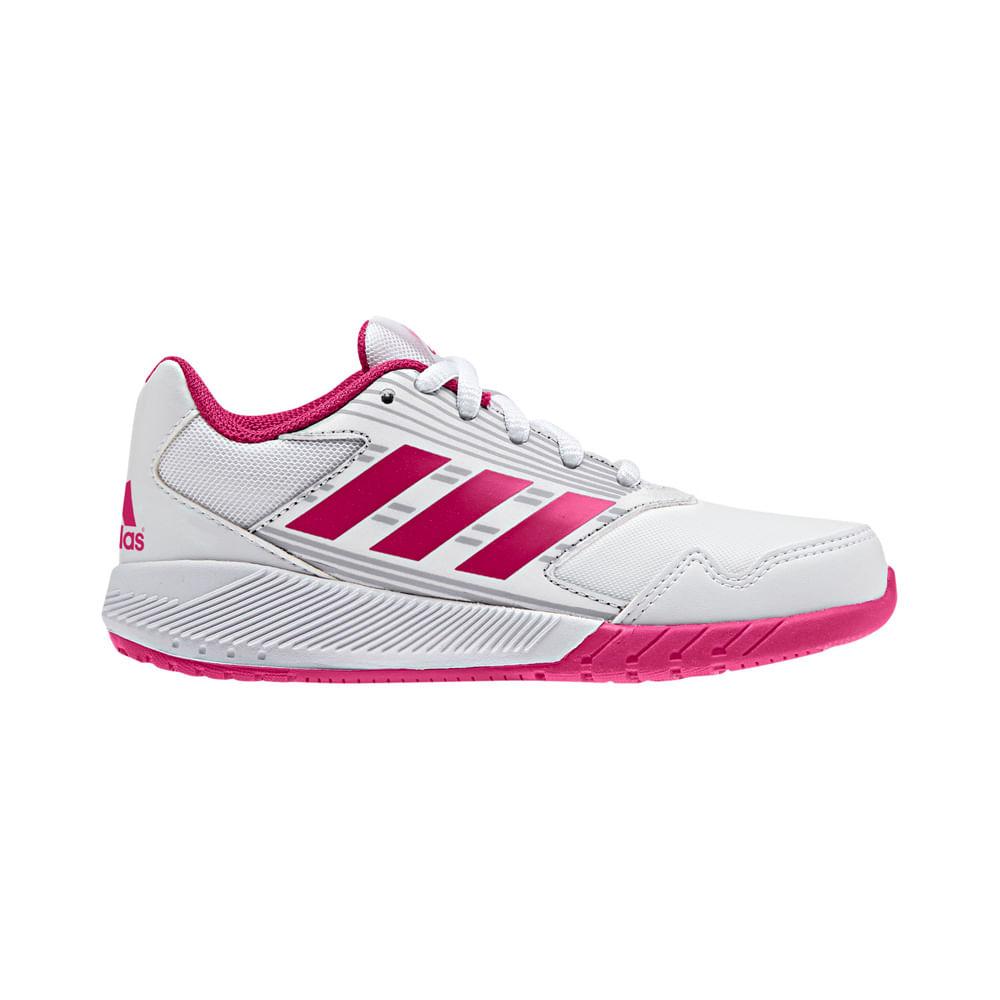 0dabbc47a Zapatillas Adidas ALTARUN K BA7423 Blanco - passarelape