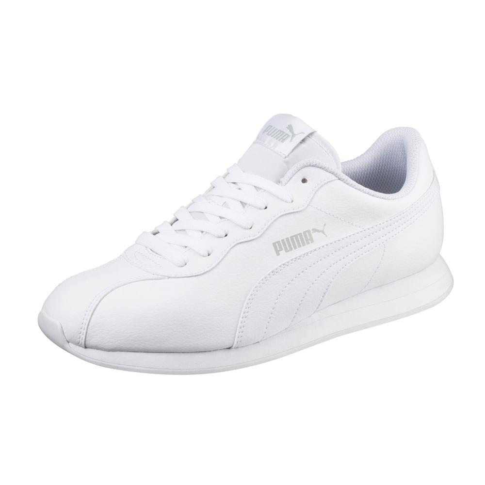 zapatillas casual hombre blancas puma