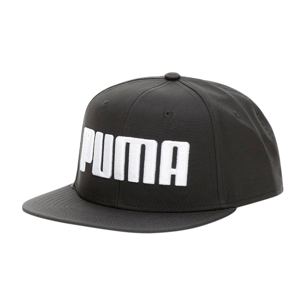 Gorras Puma FLATBRIM 021460 01 Negro - passarelape 323ef833ceb
