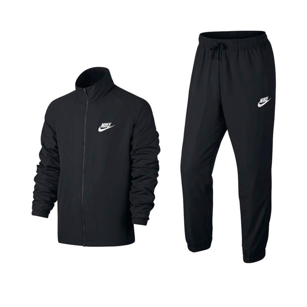 Buzos Nike TRK SUIT 861778 010 NegroBlanco footloose