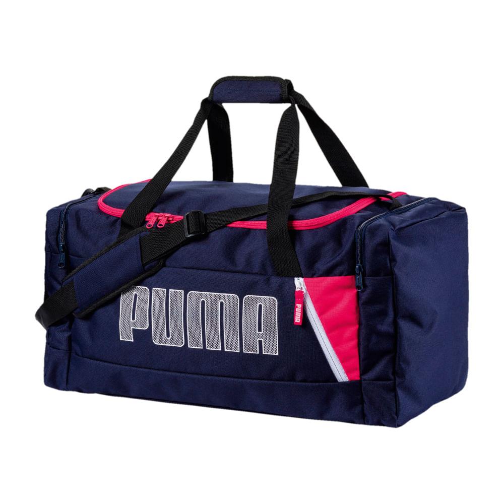 c63c437f1 Maletin Puma FUNDAMENTALS SPORTS 074964 04 Azul - passarelape