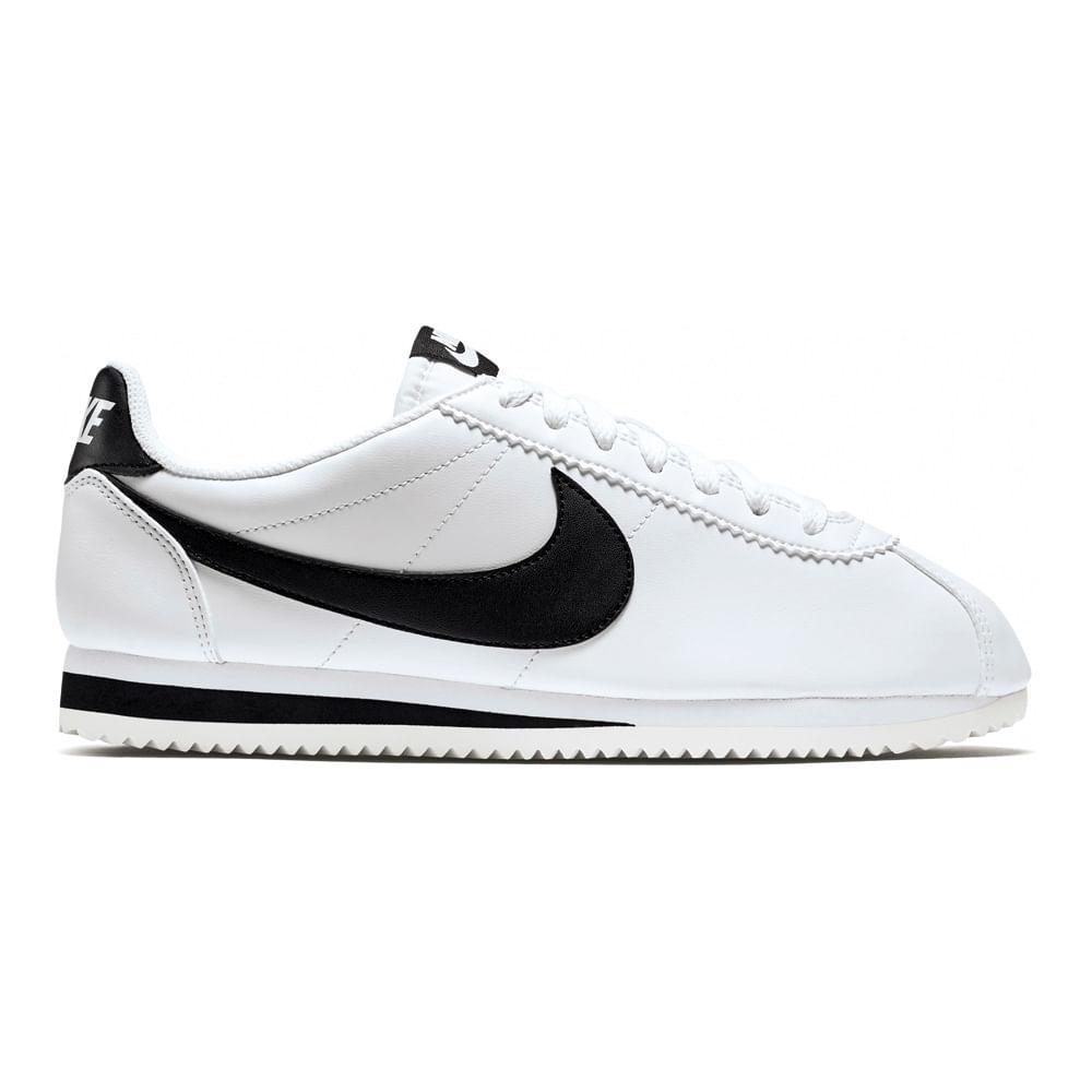 Zapatillas Nike CLASSIC CORTEZ 807471-101 Blanco Negro - passarelape 6baee771da3f9